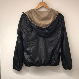 Uniqlo Reversible black and gold jacket